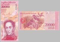 Venezuela 20000 Bolivares 2017 p99b unz