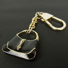 d7cdeaa9821 Auth GUCCI New Jackie Bag Motif Key Ring Holder Charm F S 1475