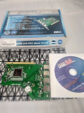Adesso 5 Port USB 2.0 PCI Host Card Fast 13M-480 Mbps data transfer rate