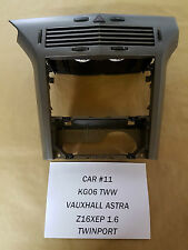 VAUXHALL ASTRA H TITANIUM VENTS HEATER DASH TRIMS 2004 - 2010 (CAR#11)
