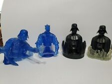 Lot 4 Star Wars Gentle Giant Bust-Ups Darth Vader Chamber Hologram Darth Maul