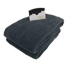 Biddeford Luxurious Microplush Heated Electric Blanket King Blue Dual Controler