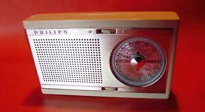 PHILIPS FANETTE Pocket Radio Taschenradio Transistorradio 60er Design Vintage