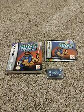 Ninja Five-O (Nintendo Game Boy Advance, 2003) Complete w Box & Manual