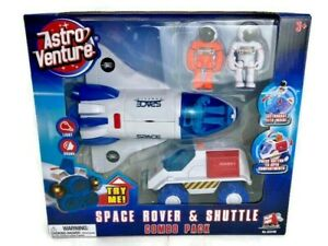 Astro Venture Space Rover & Shuttle Combo Playset Astronaut Figures Set Toy Kids