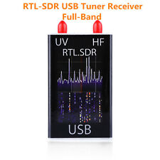 100KHz Full Band UV HF Program RTL-SDR USB Port Tuner Receiver Ham Radio + Cable