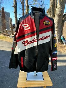Dale Earnhardt Jr # 8 Budweiser Racing Jacket BY Wilson/Chase Size 2XL (used)