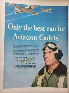 Vintage 1948 US U.S. Air Force Print Ad