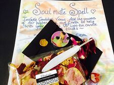 Pagan white witchcraft spell ~Love~Wicca spell kit SOULMATE SPELL KIT