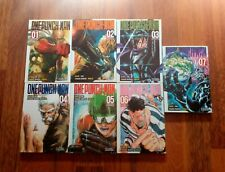 One Punch-Man tomos 1-7 Manga Ivrea España