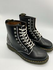 Dr. Martens 1460 Mens Leather Boots Stud UK9 25202001 | Brand New | RARE ITEM