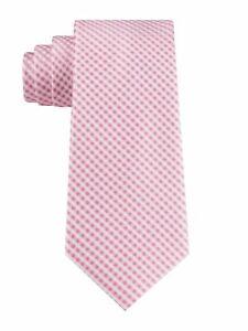 T55 Tommy Hilfiger Pink Men's Rockaway Gingham Tie