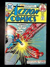 ACTION 441 (DC 11/74 9.4! non-CGC) NR! 20c BRONZE SUPERMAN! FLASH/GREEN LANTERN!