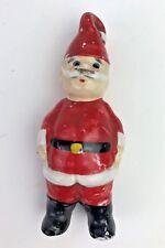 Very Old Vintage Boy in Santa Suit Christmas Figurine German Japan?