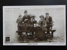 Charlie Chaplin CHARLIE'S FLIRTATION Red Letter Photocard c1915