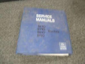 Ford 8670 8770 8870 8970 Genesis Series Tractor Shop Service Repair Manual