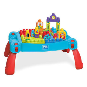 Mega Bloks Build and Learn Table - 30 Pieces