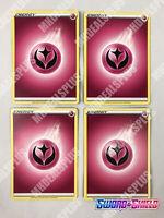 4 Fairy Type Basic Energy Cards   Sword & Shield Pokemon TCG - 4 of EACH