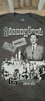 Disneyland 65th Anniversary AP Annual Passholder Walt Disney T-Shirt Medium M