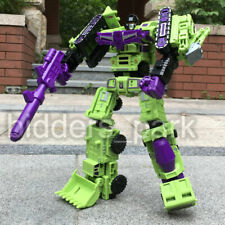 6PCS Engineering Truck Car model Robot Transformers DEVASTATOR  Action Figure