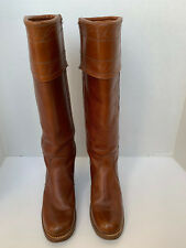 Miss Capezio Vintage USA Made Womens size 8M Leather Cuff Riding Boots L323 nk