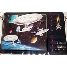Star Trek 25th Anniversary 3 Enterprise Ltd Ed Poster