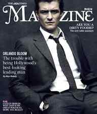 Legolas ORLANDO BLOOM Photo Cover interview TIMES MAGAZINE March 2014