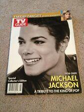 Michael Jackson Magazine TV Guide Tribute Collectors CVR 1 2009 Farrah Fawcett