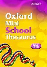 Oxford Mini School Thesaurus (2007 Edition), New, Allen, Robert Book