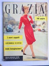GRAZIA // rivista settimanale // 8 settembre 1957  N. 864 //