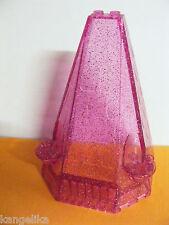 Lego--33215-Turmdach/spitze--pink/glitter--6x8x9-Schloss-Prinzessinen-Ersatzteil