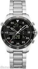 NEW HAMILTON KHAKI PILOT GMT MEN'S WATCH H64554131