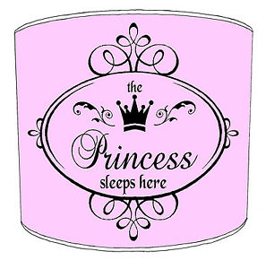 Kids Lampshades Ideal To Match The Princess Prince Sleeps Here Duvets Cover
