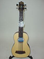 Kala UBASS-SSMHG-FS U-Bass Left-Handed Acoustic Electric Ukulele Uke LEFTY