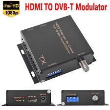HDMI Extender By RF Coaxial 500m 1080P HDMI to RF/COAX Modulator for DVB-T LPCM