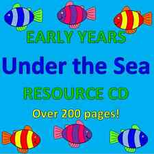 UNDER THE SEA TOPIC- Childminding resources on CD, EYFS, OFSTED, CHILDMINDER