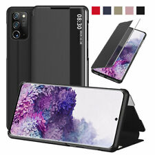 PU Leather View Window Flip Cover Case For Samsung Galaxy Note 20/Note 20 Ultra