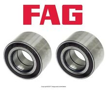 For Audi Q7 Land Rover Porsche VW Touareg Pair Set of Two Rear Wheel Bearings