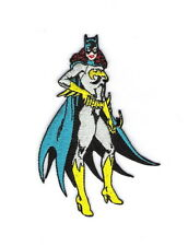 Batman, Batgirl Standing Figure Embroidered Iron On Patch, NEW UNUSED
