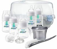 Philips Avent Anti-colic Baby Bottle with AirFree vent Gift Set Essentials, S...