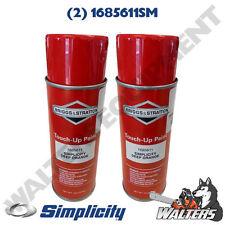 (2) Genuine Simplicity 1685611SM Deep Orange Paint | 12 oz Spray Cans