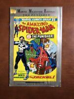 Marvel Milestone Edition Amazing Spiderman #129 (1992) 5.0 VG Key Issue Punisher