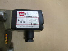 New Other, Herion (Norgren) 8222400, 8024C Solenoid Valve, 0.5-10 Bar.