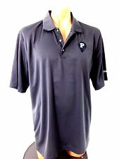 Pebble Beach Mens Performance Gray Polyester Golf Polo Shirt Size Xl Very Nice!