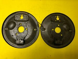 VW Beetle Split Zwitter Front Backing Plate Set Genuine NOS Rare