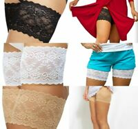"""Genuine Bandelettes® Unisex Nude or Black Anti-Chafing Thigh Bands 21/""""-32/"""""""