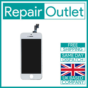 Apple iPhone 5S / SE White LCD Touch Screen Digitizer Display Replacement AM+