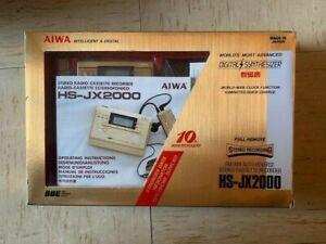 AIWA Walkman HS-JX2000 Gold 10th Anniversary in OVP und unbenutztem Topzustand!!
