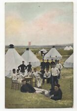 Dutch Military Na De Oefeningen Vintage Postcard 964b