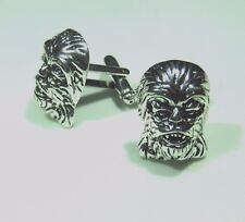 STAR WARS CHEWBACCA SILVER CUFFLINKS PREMIER QUALITY